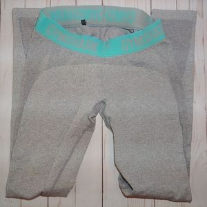 Gymshark Light Gray Flex Leggings M